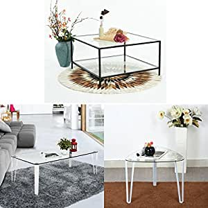 Furnish 1 trois diff rents types de table en verre for Les differents types de cuisine