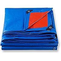 PY Polietileno color azul oscuro más tela de lluvia gruesa Protección solar resistente 10 tipos de tamaño se puede utilizar para almacenes Camiones de construcción Fábricas y empresasMuelle de golfo l
