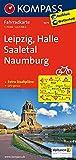 Leipzig - Halle - Saaletal - Naumburg: Fahrradkarte. GPS-genau. 1:70000: Fietskaart 1:70 000 (KOMPASS-Fahrradkarten Deutschland, Band 3075)