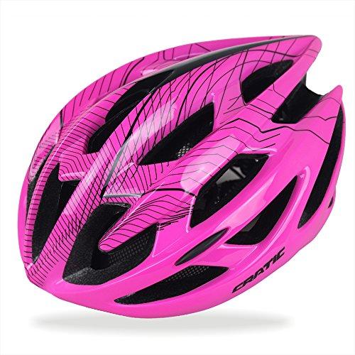 Codomoxo Trinity Mountain Fahrrad-Sturzhelm für Erwachsene, sicherer Schutz, umweltfreundlich, größenverstellbar, Fahrradhelm für Fahrräder und Rennräder  , rose, M