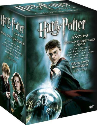 Pack Harry Potter (1-5) [Import espagnol]