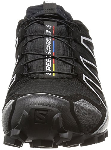 Salomon Speedcross 4 Gtx, Scarpe da Trail Running Uomo Nero (Black/black/silver Metallic-x)