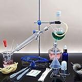 Glass product Unidad De Destilación 250 Ml Unidad De Destilación Científica Purificación De Agua Destilada Equipo De Laboratorio Químico Y0509WM