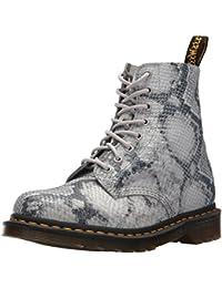 Amazon.co.uk: Dr. Martens Grey Boots Women's Shoes