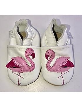 Weiche Leder Baby Schuhe Flaming