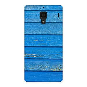 Blue Wood Texture Back Case Cover for Redmi 1S