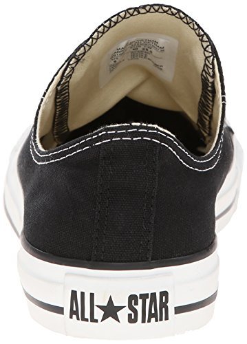 Converse Chuck Taylor All Star basse Black Uomo Donna M9166 Unisex Black