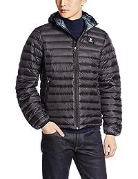 Franklin & Marshall Men's Men's Black Quilted Jacket 100% Polyester