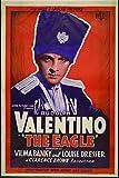The Eagle, Rudolph Valentino & Vilma Banky, Louise Dresser, 1925 - Premium-Filmplakat Reprint 28x42 Inch Ungerahmt