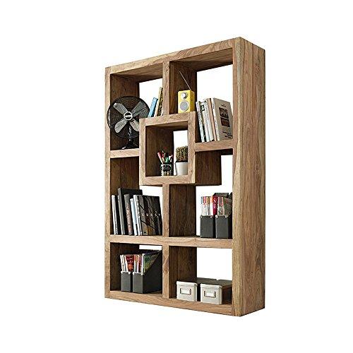 Massivholz Raumteiler (YOGA 6425 Raumteiler, Holz, 35 x 120 x 180 cm, natur)