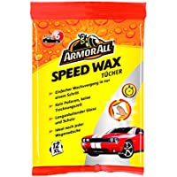 Armor All 61028271043 Speed Wax Wipes – Pack of 12 - ukpricecomparsion.eu