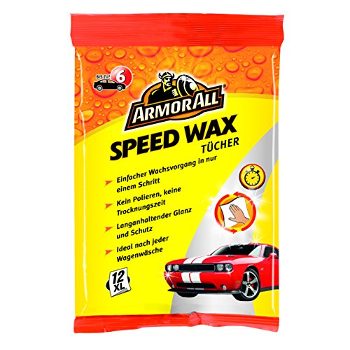 Armor All 61025271015 Express Wash & Wax cloths, pack of 12 - Best Price