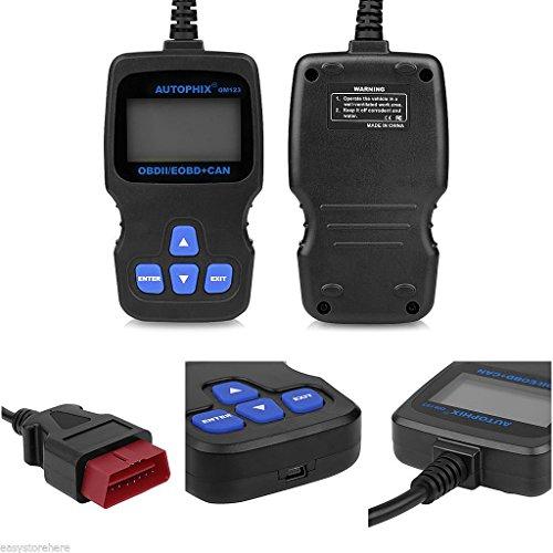 OBD2 Code Reader Autophix OM123 Car Diagnostic Scanner Universal Diagnostic Tool Check Engine Codes Grey