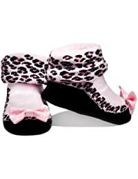 Baby Emporio - 1 Pr-Baby Mädchen Socken die wie Schuhe aussehen-Geschenkbeutel