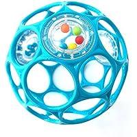 Oball - Rattle 10 cm Blau preisvergleich bei kleinkindspielzeugpreise.eu