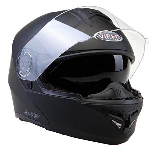Viper-RS-V151-Bluetooth-30-Casco-modulare-de-moto-Caschi-Modulari-Motorino-ACU-Oro-Timbrato