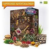 SUPERFOOD Adventskalender I beliebter Weihnachtskalender mit 24 leckeren Überraschungen! gesunder Adventskalender für eine geschmackvolle Adventszeit