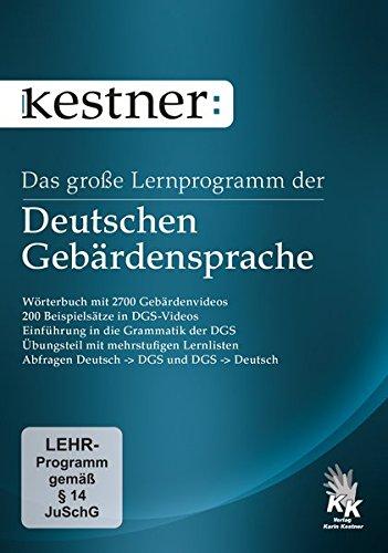 Das große Lernprogramm der Deutschen Gebärdensprache (PC+Mac) Deutsche Gebärdensprache