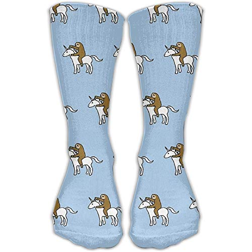 Sweet grape Sloth Unicorn Go Unisex Novelty Crew Socks Ankle Dress Socks Fits Shoe Size 6-10 (Open Toe Thigh High Socks)