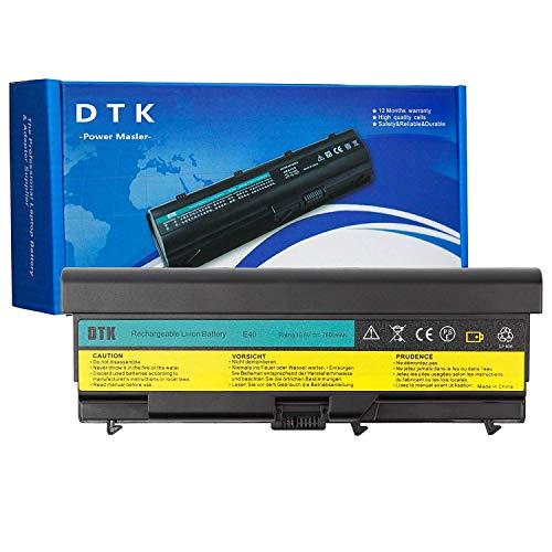 0578 Laptop Akku (DTK® Ultra Hochleistung Notebook Laptop Batterie Li-ion Akku für Lenovo IBM Thinkpad E40 E50 0578 E420 E425 E520 E525 L410 L412 L420 L421 L510 L512 L520 Sl410 Sl510 T410 T420 T510 T520 10.8V 6600MAH)