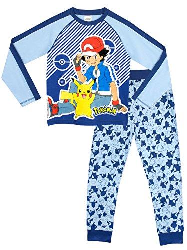 pokemon-pigiama-a-maniche-lunga-per-ragazzi-5-a-6-anni