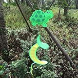 Colorful Animal Insect Spiral Rotating Windmill Wind Strip Spinner Lawn Garden Yard Outdoor Decor Gift