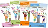 Paket: Themenhefte Gedächtnistraining Jahreszeiten: Enthält alle vier Bände des Gedächtnistraining für Senioren: Frühling, Sommer, Herbst und Winter (Bildkarten zur Sprachförderung)