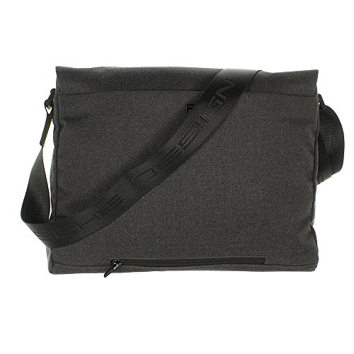 Porsche design and design and style Cargon CP Messenger IHF Aktentasche 40 cm dark grey Aktentaschen