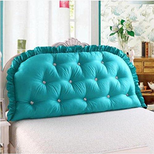 New day®-Cuscino lungo di cotone alta doppio grande cuscino con nucleo di schienale , 12 , 150 wide x80cm high