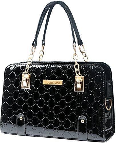 GPCT , Damen Henkeltasche schwarz schwarz (Baby Gucci Diaper Bag)