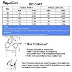 Royalcare Protective Dog Boots, Set of 4 Waterproof Dog Shoes with Wear-resistant and Rugged Anti-Slip Sole Suitable for… 16