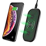 CHOETECH 3 Spulen 7.5W /10W Fast Wireless Charger Kompatibel mit Apple iPhone XS/XS Max/XR/ X/ 8/8 Plus,Galaxy S10/S10E/S10+/Note 9/S9/S9+/Note 8/S8/S7,5W für HUAWEI P30 Pro/ Mate 20 pro, Airpods 2