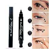 Best Stylos Eyeliner - Pinkiou stylo eye-liner avec tampon de maquillage pour Review