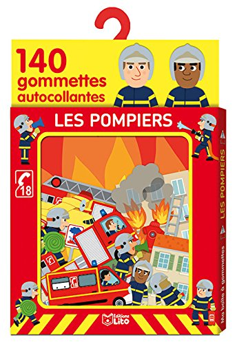 Ma boîte à gommettes: Les pompiers - De 3 à 5 ans