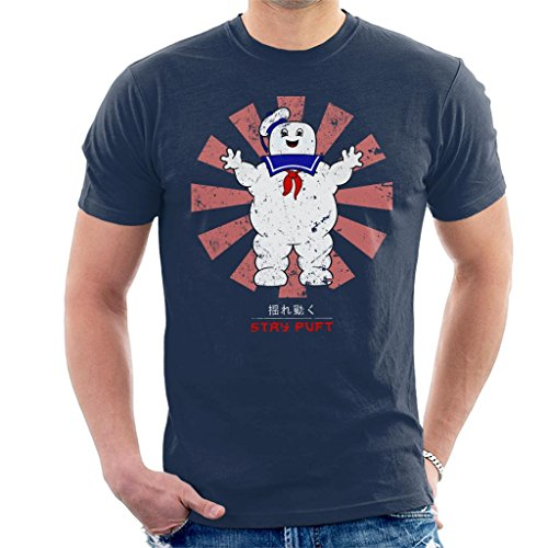Stay Puft Retro Japanese Ghostbusters Men's T-Shirt