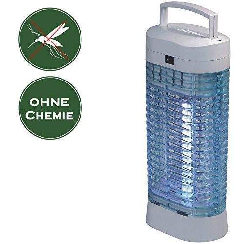 Insektenvernichter ohne Chemie, tötet Mücken und Insekten, Hochspannung 2000V, geruchsneutral