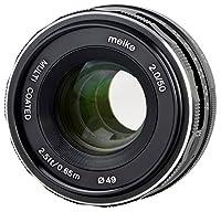 Meike Objetivo 50 mm F2.0 para Canon EOS M, Multicapa
