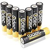 Odec AAA Batería Recargable Ni-MH, 1,2 V 1000mAh, Paquete de 8