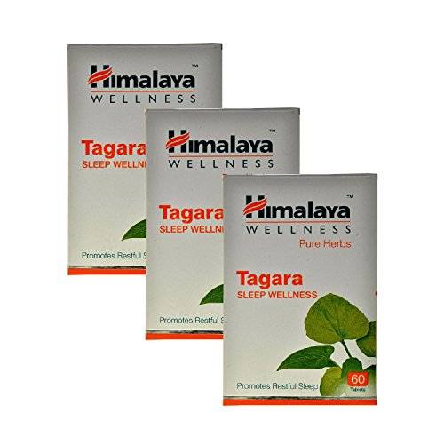 Himalaya Wellness Tagara 60 Capsules, Pack of 3  available at amazon for Rs.445