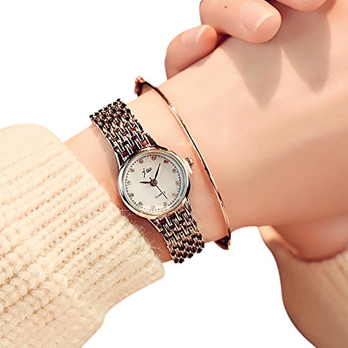 2671ee58636f58 Uhren Damen Armbanduhr Frauen Vorwahlknopf-Zarte Uhr Quarz Analog Klassisch  Uhren Handgelenk Kleine Luxusgeschäfts Uhren