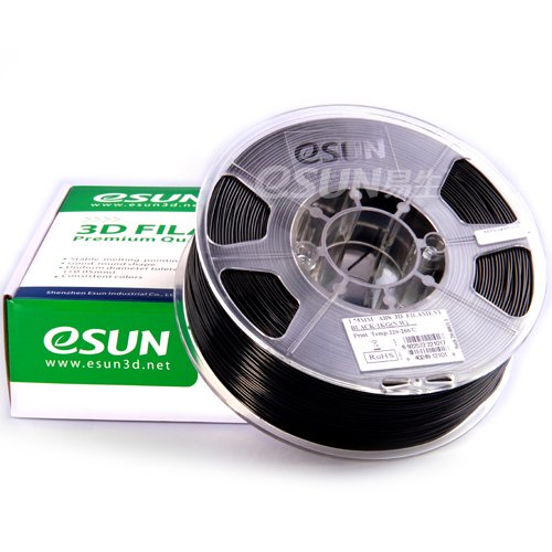 eSun PLA+ filament,1.75mm, 1.0kg Premium (Noir)
