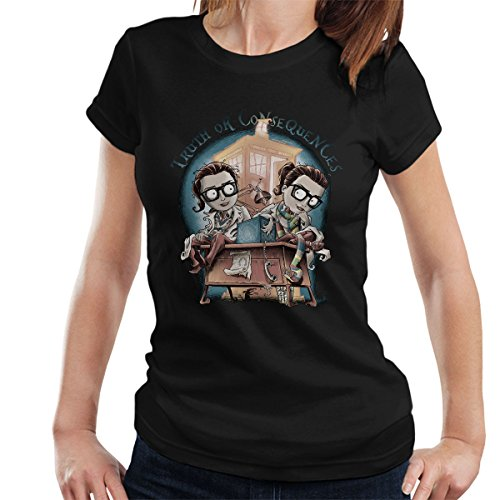 Doctor Who Truth Or Consequences Women's T-Shirt