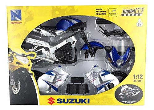 Moto Suzuki GSX-R1300R Hayabusa. Kit de montaje. Escala 1/12.