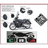 Tucano - Funda térmica cubrepiernas Tucano R017 para moto Honda Vision 110