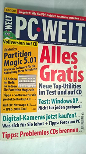Partition Magic 5.01 Vollversion (Boot-diskette)