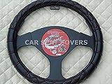 RM R–Convient pour Mitsubishi Outlander Phev de voiture, Housse de volant, Bentley Stitch SWC 53Medium
