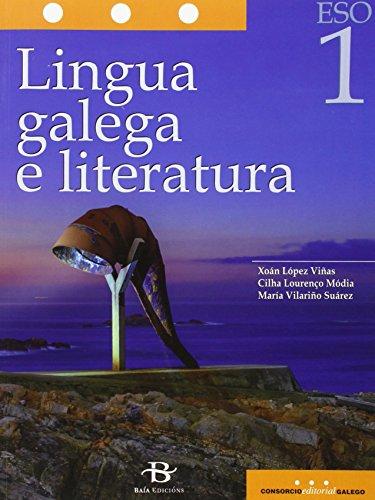 Lingua galega e literatura 1º ESO. LOMCE (Libro de texto) por Xoán López Viñas