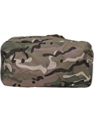 MFH LARGE UTILITY POUCH OPERATION CAMO MULTICAM AIRSOFT SHOOTING POUCH