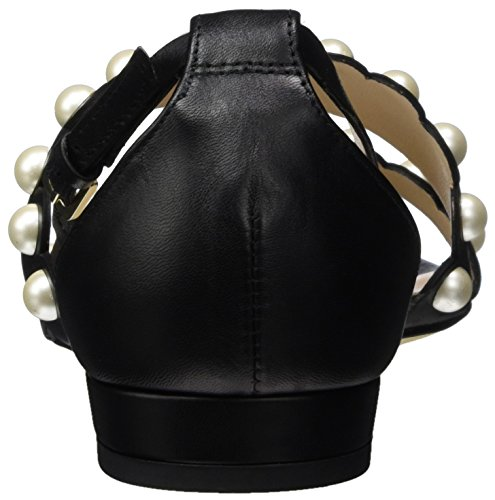 LK BENNETT Alessa, Sandales Bout Ouvert Femme Noir (Black)