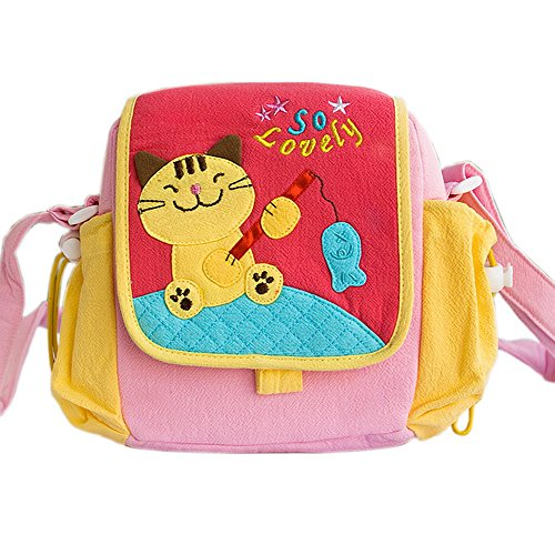 [Kitty Loves Poisson] Kitty Sac à bandoulière (7,3 * 7 * 2,4)
